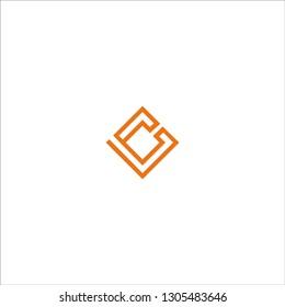 LC letter logo vector