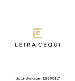 LC monogram logo