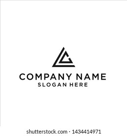 lc triangle logo / lc logo