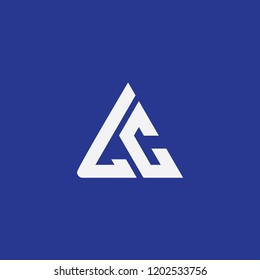 lc triangle logo initial