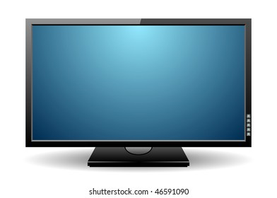 flat screen tv clipart images stock photos vectors shutterstock rh shutterstock com clip art viking clip art violin