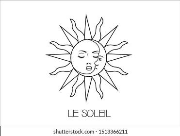 le soleil is the sun fashion