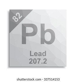 lead element periodic table - Periodic Table Symbol Pb