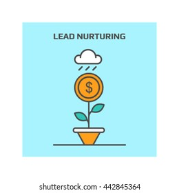 Lead nurturing vector