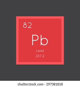Chemical symbol pb icon images stock photos vectors shutterstock chemical element of periodic table vector illustration eps8 urtaz Images