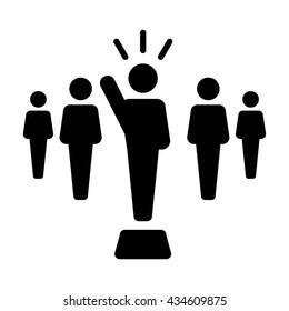 Leader Icon - Vector