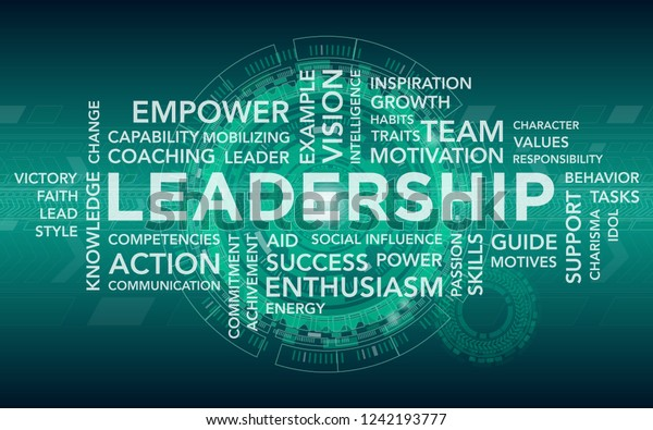Leadership Abstract Banner Stock Vector (Royalty Free