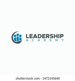 LEADERSHIP ACADEMY LOGO DESIGN CLEAN