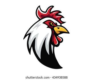 Leadership Animal Logo - Chicken Farm Leader Character