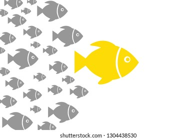 Leadership Concepts with Fishes