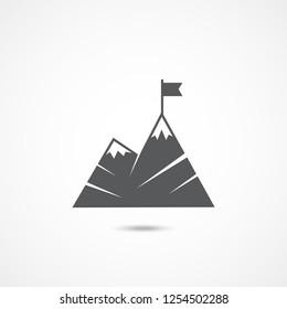 Leadership flat icon