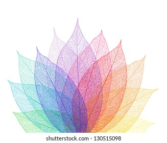 Leaf abstract background