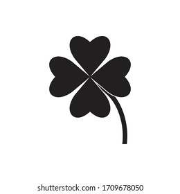 Leaf clover sign icon design , saint patrick symbol icon