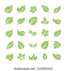 Leaf Flat Icons