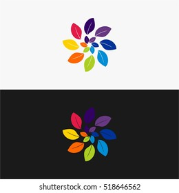 leaf logo best icon logo for your business full color