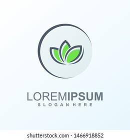 leaf logo design ready to use