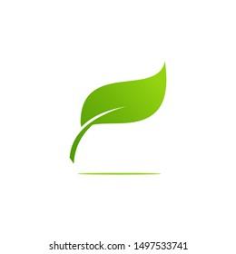 Leaf Logo Design Template - vector