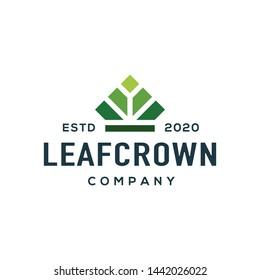 Leaf logo design vector. Universal leaf logo.