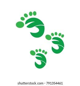 leaf logotype business