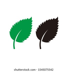 Leaf Nature icon template black color editable. Leaf Nature symbol pack vector sign isolated on white background. Simple logo vector illustration for graphic and web design.