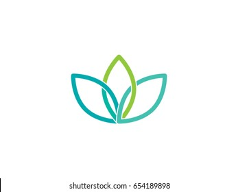 Leaf vector drawing
