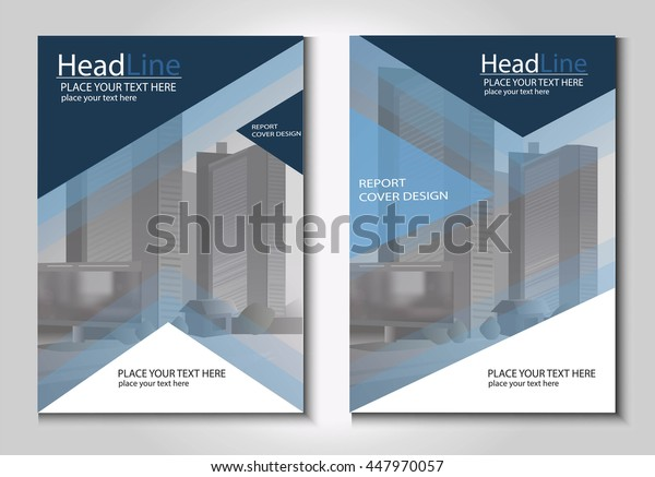 Leaflet Brochure Flyer template A4 size design, book cover layout design, Abstract presentation templates