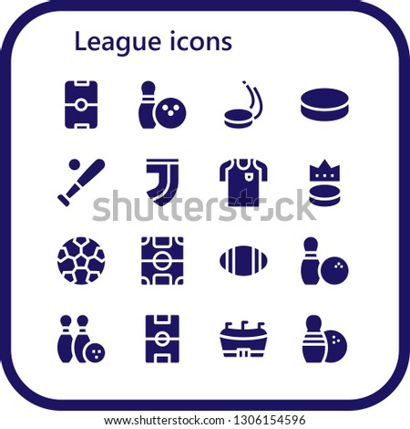 league icon set 16