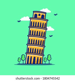 The Leaning Tower of Pisa, or better known as the Tower of Pisa, is a campanile or cathedral bell tower in the city of Pisa, Italy.