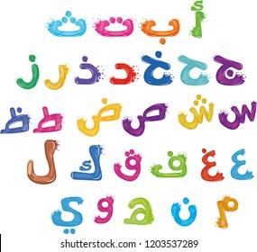 Learn Arabic alphabets