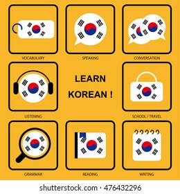 Korean Language Images, Stock Photos & Vectors | Shutterstock