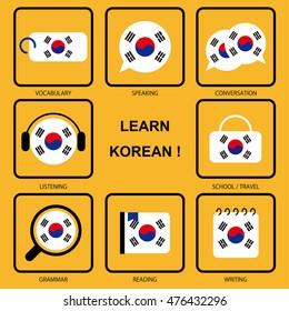Korean Language Images, Stock Photos & Vectors | Shutterstock