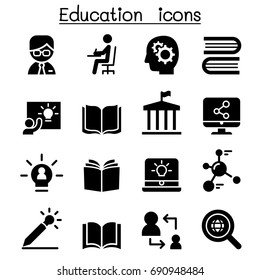 Learning & Education icons