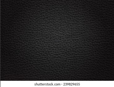 leather texture black background , Vector EPS 10.
