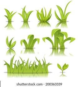 cartoon grass images stock photos vectors shutterstock rh shutterstock com grass cartoon images grass cartoon images