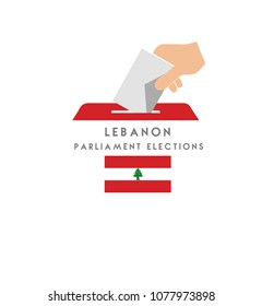 Lebanon Elections Vektor Work