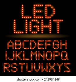 LED Alphabet set