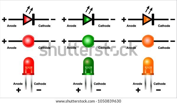 led (light emitting diode) circuit diagram