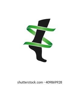 Leg Icon Vector.