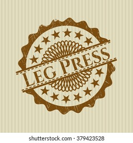 Leg Press rubber texture