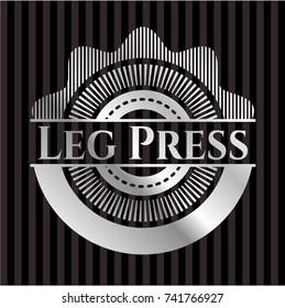 Leg Press silvery emblem