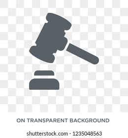 legal expenses icon. Trendy flat vector legal expenses icon on transparent background from Insurance collection.