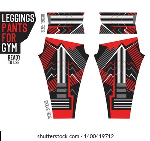 leggings pants for gym with mold