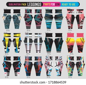 leggings pants for gym,fashion set ready to use