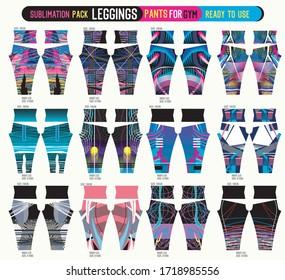 leggings pants for gym,fashion set ready to use