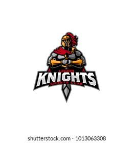 Legion Knight mascot logo