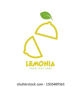 Lemon graphic design template vector isolated illustration