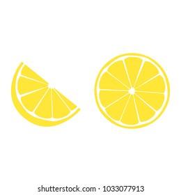 Lemon icon sign