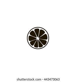 lemon icon. lemon sign