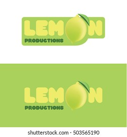 Lemon productions logo