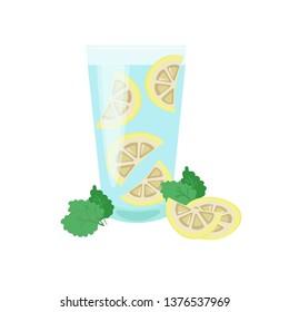 Lemonade. Stock vector illustration.